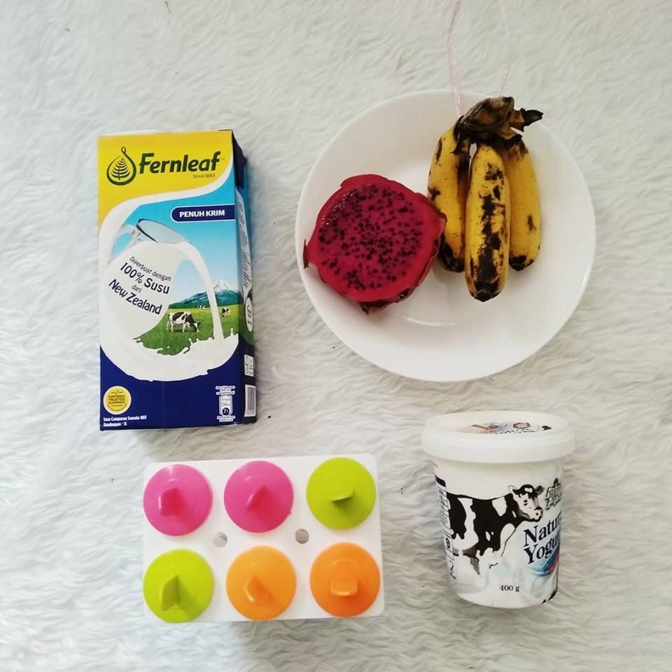 Layan Anak Anak Makan Aiskrim Homemade Hujung Minggu Boleh Sediakan Fruit Yogurt Popsicle Terangkat Ni Pa Ma