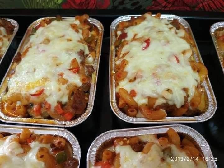 resepi makaroni bakar bersama bebola daging enak mudah nak buat anak makan confirm berselera Resepi Nasi Goreng Lada Hitam Enak dan Mudah