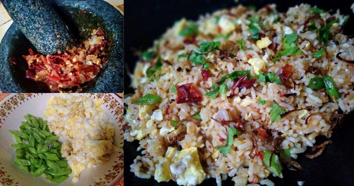 Nasi Goreng Cabai Kering Pecah Telur Menu Simple Tengok Pun Dah Tau Sedap Pa Ma
