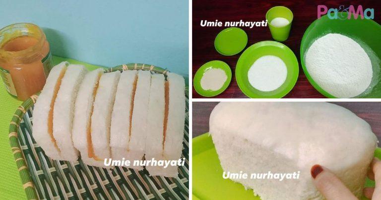 resipi roti kukus mudah  senang nak buat sedapnya makan  seri kaya pama Resepi Roti Kukus Lembut Enak dan Mudah