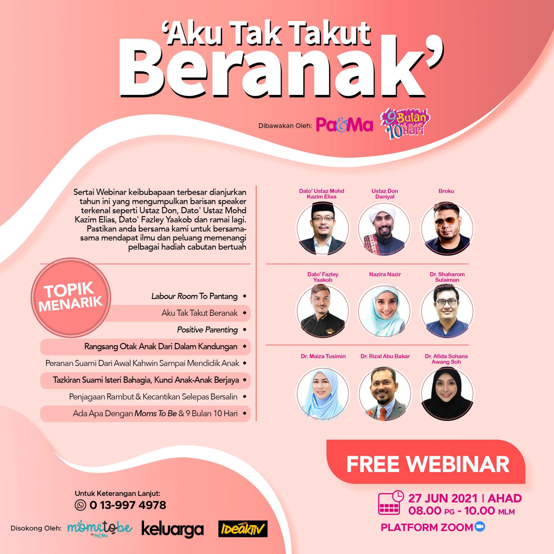 Webinar Keibubapaan percuma
